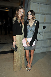 Left to right, ROSIE HUNTINGTON-WHITELEY and ALEXA CHUNG at the Royal Academy of Arts Summer Party held at Burlington House, Piccadilly, London on 3rd June 2009.