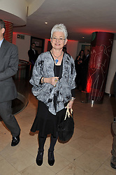 DAME JACQUELINE WILSON at the 2011 Costa Book Awards held at Quaglino's, 16 Bury Street, London on 24th January 2012.