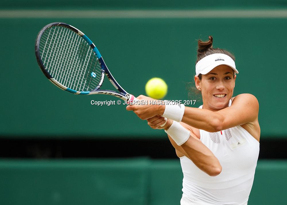 GARBI&Ntilde;E MUGURUZA (ESP)<br /> <br /> Tennis - Wimbledon 2017 - Grand Slam ITF / ATP / WTA -  AELTC - London -  - Great Britain  - 13 July 2017.