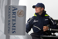 Image licensed to Lloyd Images - Free for editorial use<br /> The 2015 Artemis Challenge as part of Aberdeen Asset Management Cowes Week 2015. Cowes. Isle of Wight. Pictures of Zara Phillips on board Artemis Ocean Racing Credit: Lloyd Images