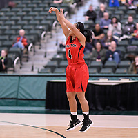 U Sports 2018 Women's National Basketball Championship on March  8 at the Centre for Kinesiology, Health and Sport Regina,Saskatchewan. Credit: Arthur Ward/Arthur Images