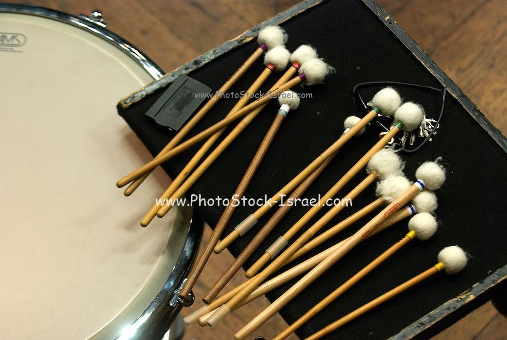 Percussion mallet set