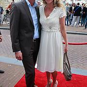 NLD/Amsterdam/20110731 - Premiere circus Hurricane met Hans Klok, Brigitte Nijman en partner Robert Veuger