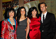 Mary Ling, Lisa Ling, Laura Ling and Iain Clayton attend the Glamour Magazine 2009 Women of the Year Awards at Carnegie Hall in New York City on November 9, 2009.