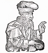 Plato (c428-348 BC) Ancient Greek philosopher. Woodcut from 'Liber chronicarum mundi' (Nuremberg Chronicle) by Hartmann Schedel (Nuremberg), 1493.
