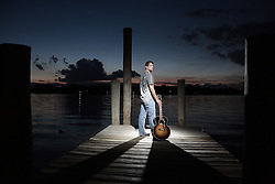 """Bryan Fox album cover for his first album """"Big City Lights"""", Monday, June 28, 2010 at Downtown in Louisville."""