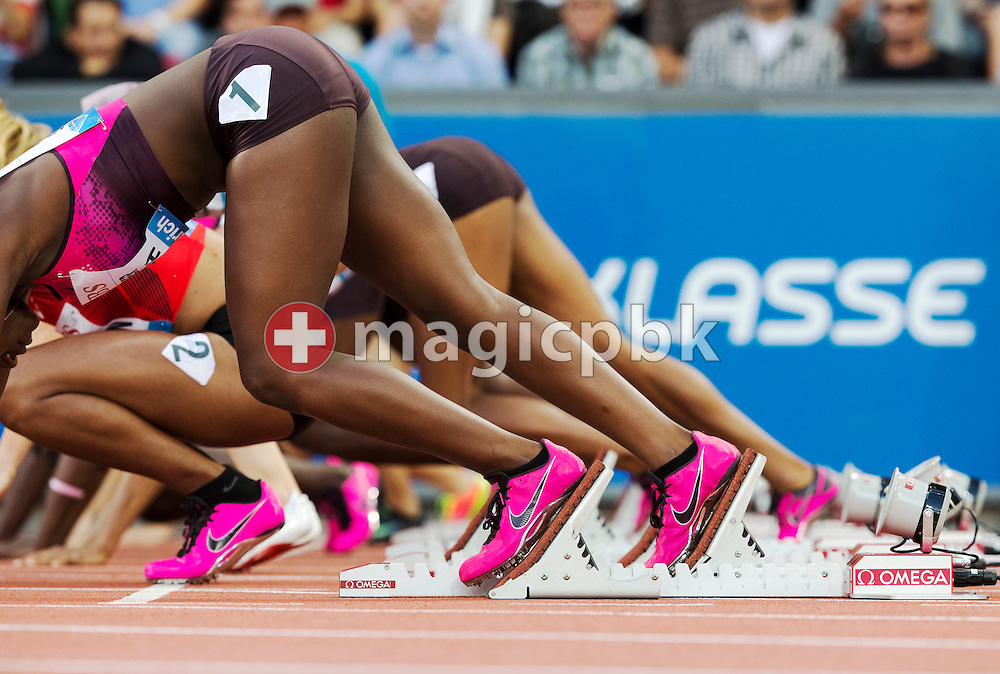 Action during the Iaaf Diamond League meeting at the Letzigrund Stadium in Zurich, Switzerland, Thursday, Aug. 29, 2013. (Photo by Patrick B. Kraemer / MAGICPBK)