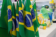 Brasil memoribilia at the team shot at Rio de Janeiro international airport, Rio de Janeiro, Brazil<br /> Picture by Andrew Tobin/Focus Images Ltd +44 7710 761829<br /> 12/06/2014