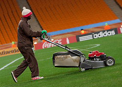 Grasscutter after the 2010 FIFA World Cup South Africa Round of Sixteen match between Argentina and Mexico at Soccer City Stadium on June 27, 2010 in Johannesburg, South Africa. Argentina defeated Mexico 3-1 and qualified for quarterfinals. (Photo by Vid Ponikvar / Sportida)