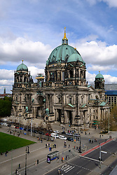 Exterior view of Berliner Dom , Berlin Cathedral, in Mitte Berlin Germany