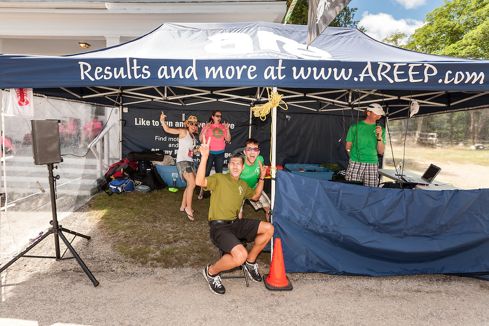 Great Cranberry Island Ultra 50K road race: timing crew