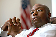 South Carolina Senator Tim Scott is the first African-American senator from the state of South Carolina and the first African-American senator to be elected from the southern United States since 1881.
