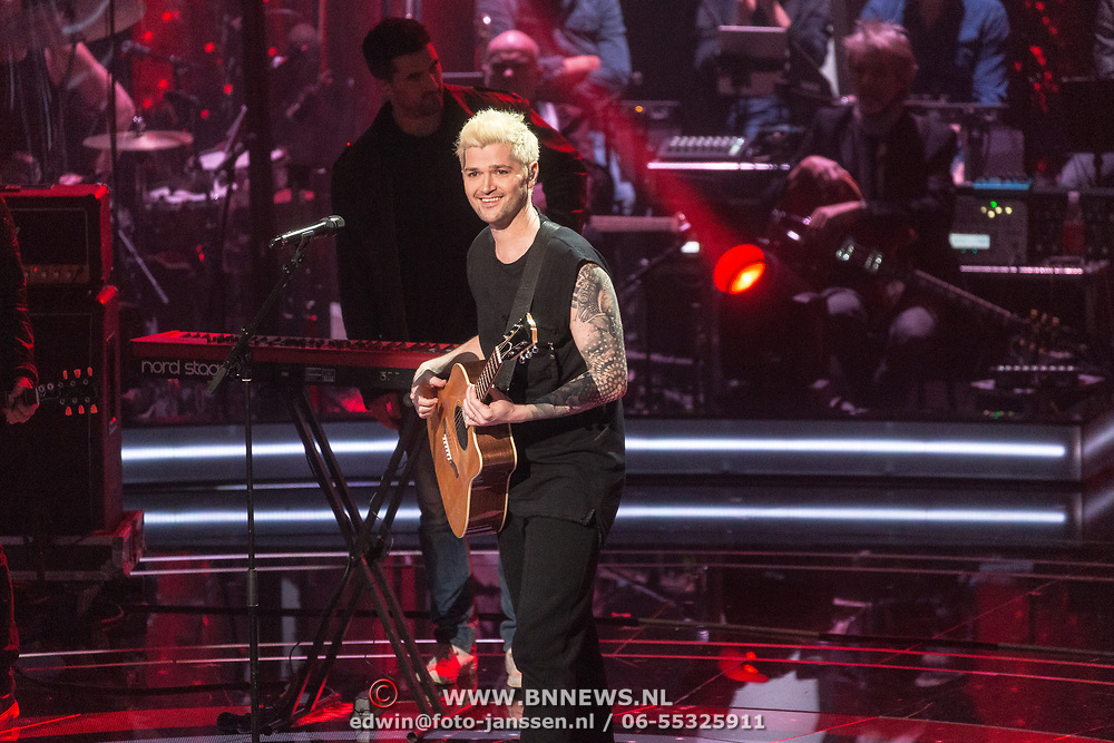 NLD/Hilversum/20180126 - The Voice of Holland 2017 show 1, Tjindjara  Metschendorp