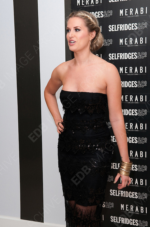 24.OCTOBER.2012. MANCHESTER<br /> <br /> SARAH JAYNE DUNN AT THE LAUNCH OF MERABI COTURE AT SELFRIDGES, TRAFFORD CENTRE, MANCHESTER.<br /> <br /> BYLINE: EDBIMAGEARCHIVE.CO.UK<br /> <br /> *THIS IMAGE IS STRICTLY FOR UK NEWSPAPERS AND MAGAZINES ONLY*<br /> *FOR WORLD WIDE SALES AND WEB USE PLEASE CONTACT EDBIMAGEARCHIVE - 0208 954 5968*