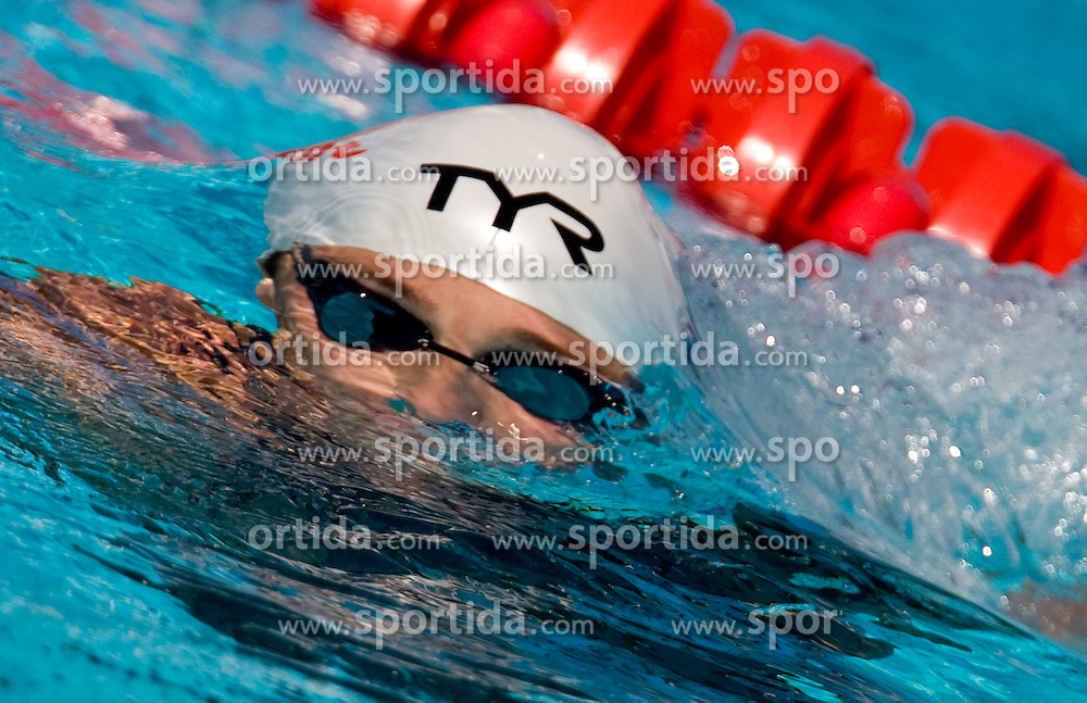 Frederick Bousquet of France competes in the Men's 100m Freestyle Heats during the 13th FINA World Championships Roma 2009, on July 29, 2009, at the Stadio del Nuoto,  in Foro Italico, Rome, Italy. (Photo by Vid Ponikvar / Sportida)