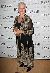 Judi Dench nominated  best leading actress for the Oscars 2014.<br /> Dame Judi Dench arriving at the Harper's Bazaar Women of the Year Awards 2011 in London, Monday, 7th November 2011.  Photo by: Stephen Lock/i-Images