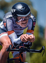 06.07.2019, Wels, AUT, Ö-Tour, Österreich Radrundfahrt, Prolog, Einzelzeitfahren (2,5 km), im Bild Georg Zimmermann (Tirol KTM Cycling Team, GER) // during the prolog, Individual time trial (2,5 Km) of the 2019 Tour of Austria. Wels, Austria on 2019/07/06. EXPA Pictures © 2019, PhotoCredit: EXPA/ JFK