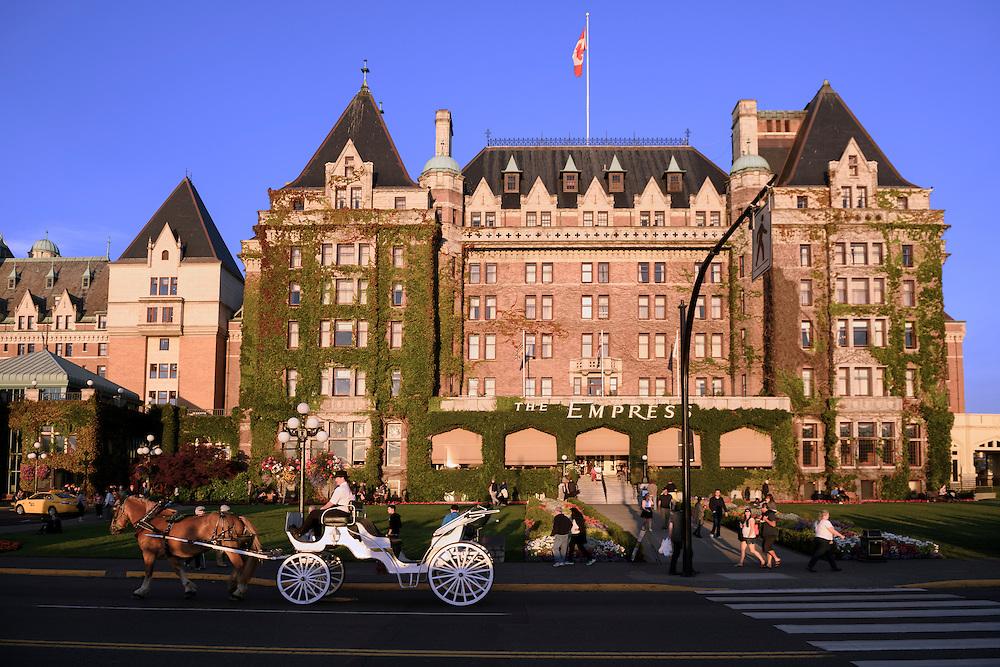 Canada, British Columbia, Vancouver Island, Victoria, Empress Hotel