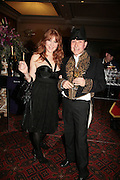 Charlotte Tilbury and Olivier Mourad, THE DINER DES TSARS in aid of UNICEF. To celebrate the launch of Quintessentially Wine, Guildhall. London. 29 March 2007.  -DO NOT ARCHIVE-© Copyright Photograph by Dafydd Jones. 248 Clapham Rd. London SW9 0PZ. Tel 0207 820 0771. www.dafjones.com.
