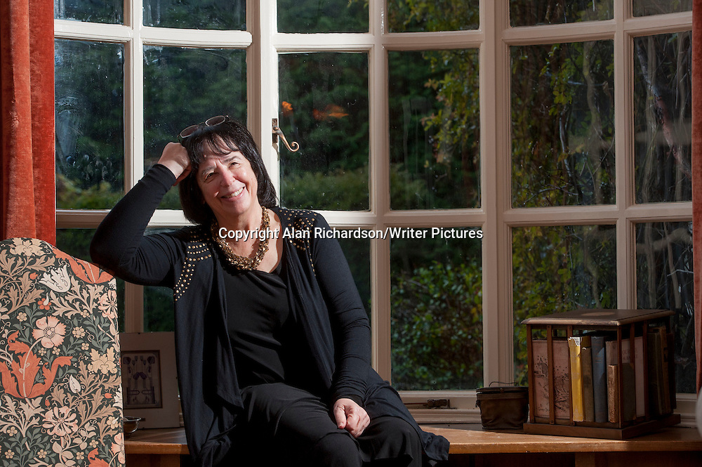 Jane Yolen, American author and poet, photographed at St Andrews University, Scotland on 31st October 2012<br /> <br /> Picture by Alan Richardson/Writer Pictures<br /> WORLD RIGHTS