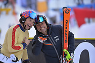 SCI Coppa del Mondo 3tre Slalom Gigante , Giorgio Rocca e Kristian Ghedina, Madonna di Campiglio 22 dicembre 2018 © foto Daniele Mosna