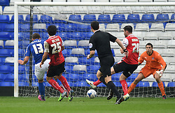 Birmingham City's Robert Tesche scores on his loan debut at St Andrew's Stadium - Photo mandatory by-line: Paul Knight/JMP - Mobile: 07966 386802 - 03/04/2015 - SPORT - Football - Birmingham - St Andrew's Stadium - Birmingham City v Rotherham United - Sky Bet Championship