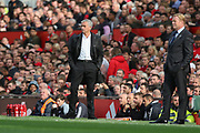 Manchester United Manager Jose Mourinho during the Premier League match between Manchester United and Everton at Old Trafford, Manchester, England on 17 September 2017. Photo by Phil Duncan.