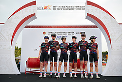 CANYON//SRAM Racing at GREE Tour of Guangxi Women's WorldTour 2019 a 145.8 km road race in Guilin, China on October 22, 2019. Photo by Sean Robinson/velofocus.com