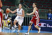 DESCRIZIONE : Riga Latvia Lettonia Eurobasket Women 2009 Qualifying Round Italia Turchia Italy Turkey<br /> GIOCATORE : Chiara Pastore<br /> SQUADRA : Italia Italy<br /> EVENTO : Eurobasket Women 2009 Campionati Europei Donne 2009 <br /> GARA : Italia Turchia Italy Turkey<br /> DATA : 12/06/2009 <br /> CATEGORIA : palleggio<br /> SPORT : Pallacanestro <br /> AUTORE : Agenzia Ciamillo-Castoria/E.Castoria