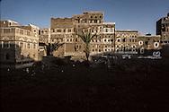 Yemen. Sanaa. old town       /   Vielle ville de Sanaa    /      L0007528  /    P111621