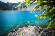 Crater Lake Fly Fishing - Trout