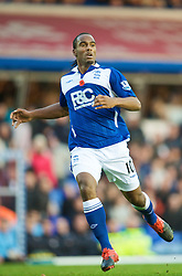BIRMINGHAM, ENGLAND - Sunday, November 1, 2009: Birmingham City's Cameron Jerome during the Premiership match against Manchester City at St Andrews. (Pic by David Rawcliffe/Propaganda)