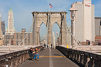 brooklyn bridge - New York City in October 2008