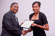 19004Legacy 2008 Recognition & Awards Ceremony in Baker Center 7/31/08: Templeton Scholars, Urban Scholars, and Appalachian Scholars..Urban Scholars:..Dr. McDavis & Chrysten Crockett