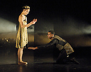 Orpheus<br /> choreography by Will Tuckett<br /> <br /> Ballet Black <br /> Artistic director Cassa Pancho<br /> <br /> Damien Johnson (as Orpheus)<br /> Sarah Kundi (as Eurydice)<br /> <br /> <br /> Photograph by Elliott Franks