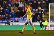 Liam Cooper (6) of Leeds United during the EFL Sky Bet Championship match between Reading and Leeds United at the Madejski Stadium, Reading, England on 12 March 2019.