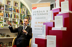 Interview with dr. Jordan B. Peterson, Professor of Psychology & Clinical Psychologist and author of the bestseller 12 Rules for Life: An Antidote to Chaos, on November 18, 2018, in Galerija Druzina, Ljubljana, Slovenia. Photo by Vid Ponikvar / Sportida