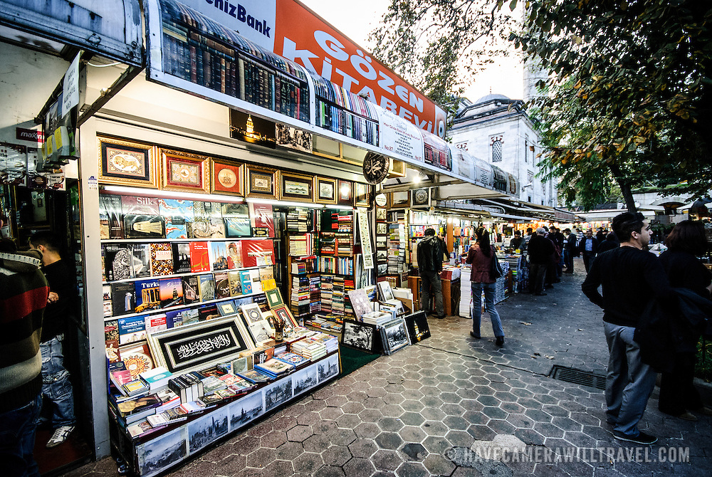 The historic Sahaflar Carsisi, next to Istanbul's Grand Bazaar, has sold books and literature for centuries.