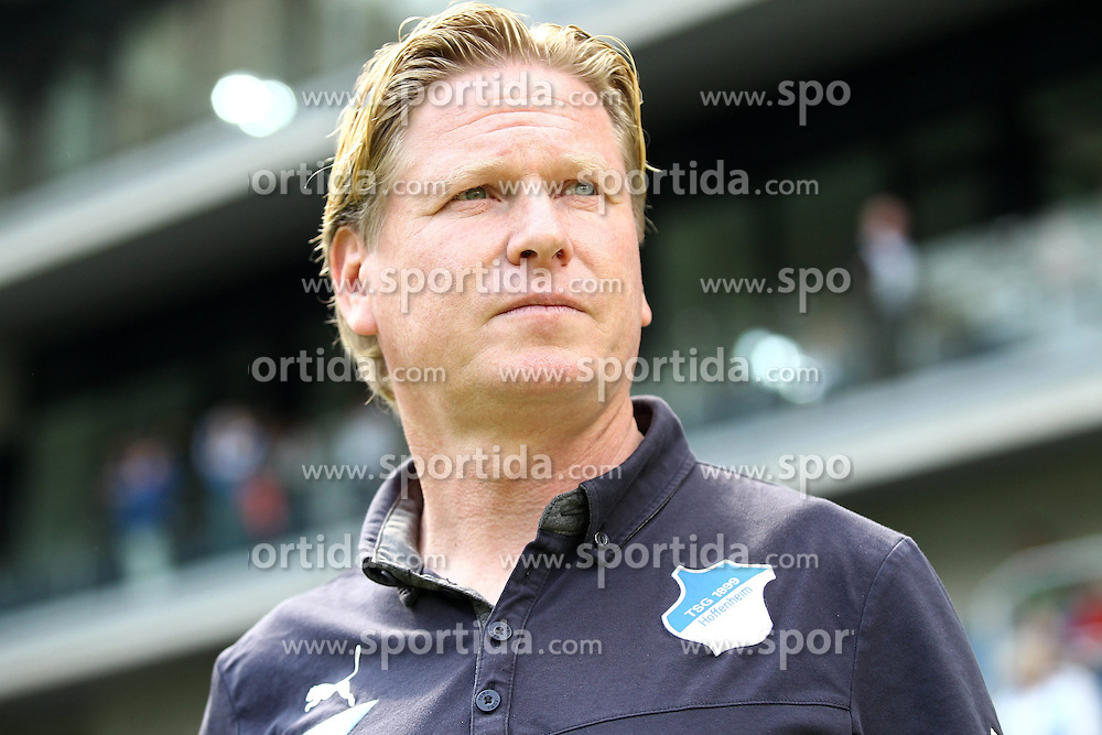 26.04.2014, Rhein Neckar Arena, Sinsheim, GER, 1. FBL, TSG 1899 Hoffenheim vs Eintracht Frankfurt, 32. Runde, im Bild Markus Gisdol (Trainer / TSG 1899 Hoffenheim) // during the German Bundesliga 32th round match between TSG 1899 Hoffenheim and Eintracht Frankfurt at the Rhein Neckar Arena in Sinsheim, Germany on 2014/04/26. EXPA Pictures &copy; 2014, PhotoCredit: EXPA/ Eibner-Pressefoto/ Neis<br /> <br /> *****ATTENTION - OUT of GER*****
