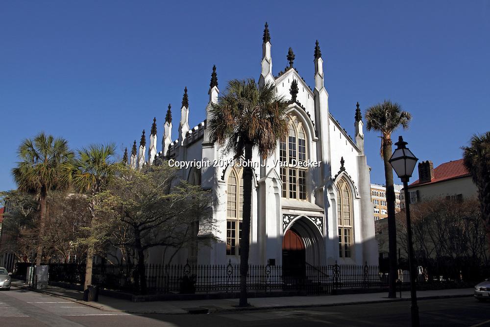 The French Huguenot Church, Charleston, SC, USA