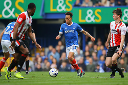 Kyle Bennett of Portsmouth in action - Mandatory by-line: Jason Brown/JMP - 06/05/2017 - FOOTBALL - Fratton Park - Portsmouth, England - Portsmouth v Cheltenham Town - Sky Bet League Two