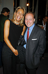 ANDREW ROBERTS and LEONIE FRIEDA at a party to celebrate the publication of 'Princesses' the six daughters of George 111 by Flora Fraser held at the Saville Club, Brook Street, London W1 on 14th September 2004.<br /><br />NON EXCLUSIVE - WORLD RIGHTS