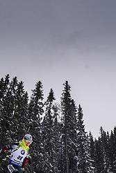 March 8, 2019 - –Stersund, Sweden - 190308 Veronika Vitkova of Czech Republic competes in the Women's 7.5 KM sprint during the IBU World Championships Biathlon on March 8, 2019 in Östersund..Photo: Petter Arvidson / BILDBYRÃ…N / kod PA / 92247 (Credit Image: © Petter Arvidson/Bildbyran via ZUMA Press)