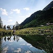 Silvretta Nova, Bergwanderung, Wanderung, Kaeseherstellung, Schruns