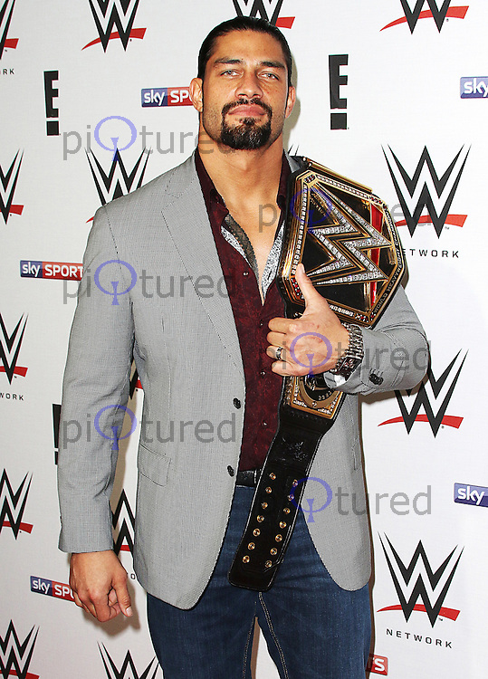 Roman Reigns, WWE RAW - Pre Show Party, 02 Brooklyn Bowl, London UK, 18 April 2016, Photo by Brett D. Cove