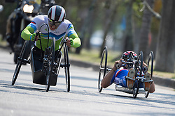 BOSREDON Mathieu, FRA, H4, Cycling, Time-Trial, JERALIC Primoz, SLO, H5 at Rio 2016 Paralympic Games, Brazil