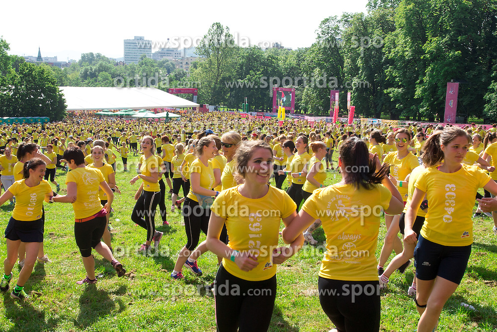 Women during 5km and 10km running race 11. DM Tek za zenske on May 28, 2016 in Tivoli, Ljubljana, Slovenia. Photo by Matic Klansek Velej / Sportida