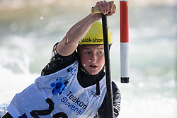 Eva Alina HOCEVAR of Slovenia during the Canoe Single (WC1) Womens Semi Final race of 2019 ICF Canoe Slalom World Cup 4, on June 30, 2019 in Tacen, Ljubljana, Slovenia. Photo by Sasa Pahic Szabo / Sportida