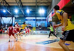Adnan Harmandic  of Gorenje at handball match of MIK 1st Men league between RD Slovan and RK Gorenje Velenje, on May 16, 2009, in Arena Kodeljevo, Ljubljana, Slovenia. Gorenje won 27:26. (Photo by Vid Ponikvar / Sportida)