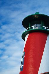 North America, USA, Washington, Long Beach. Lighthouse closeup
